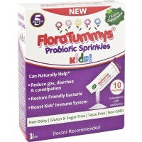 FloraTummys Probiotic Sprinkle Packets for Kids 10 ea [852061004011]