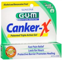 GUM Canker-X Pain Relief Gel 8 mL [070942123648]