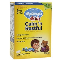 Hyland's 4 Kids Calm & Restful Quick-Dissolving Tablets 125 ea [354973316119]