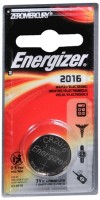 Energizer Watch Battery 3 Volt ECR2016BP 1 Each [039800088611]