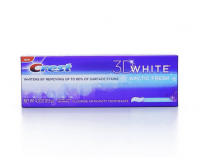 Crest 3D White Fluoride Anticavity Toothpaste, Icy Cool Mint 4 oz [037000840626]