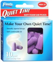 Flents Quiet Time Soft Foam Ear Plugs with Carrying Case 10 pairs [023185680003]
