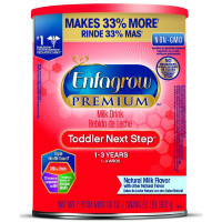 Enfagrow PREMIUM Toddler Next Step, Natural Milk Flavor - Powder Can, 32 oz [300875114131]