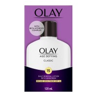 OLAY Age Defying Classic Daily Renewal Lotion, With Sunscreen, Classic 4 oz [075609000232]