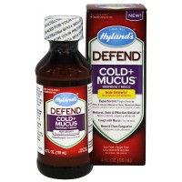 Hyland's Defend Cold + Mucus Relief Liquid 4 oz [354973318311]