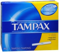 Tampax Tampons Regular 40 Each [073010221109]