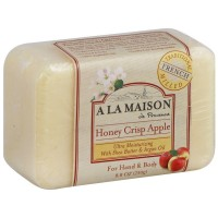 A LA MAISON Bar Soap, Honey Crisp Apple 8.80 oz [817252011025]
