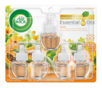 Air Wick Scented Oil Refill, Hawaii Exotic Papaya & Hibiscus Flower, 5 refills (5x.67) oz [062338937946]