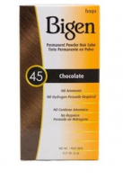 Bigen Permanent Powder Hair Color 45 Chocolate 1 ea [033859905455]