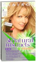 Natural Instincts Clairol Natural Instincts Vibrant Permanent Hair Color 8 Toasted Almond (Medium Blonde) 1 Each [381519050015]