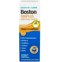 Bausch & Lomb Boston Simplus Multi Action Solution with Daily Protein Remover 3.5 oz [047144054247]