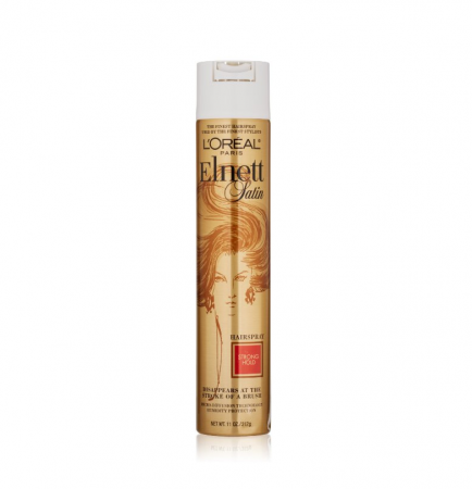 L'Oreal Elnett Satin Hairspray Strong Hold 11 oz [071249153802]
