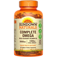 Sundown Naturals Complete Omega 1400 mg Softgels 90 ea [030768540555]