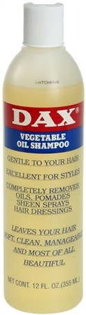 Dax Vegetable Oil Shampoo 12 oz [077315004023]