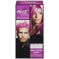 Splat Hair Color Complete Kit, Pink Fetish 1 ea [857169020390]
