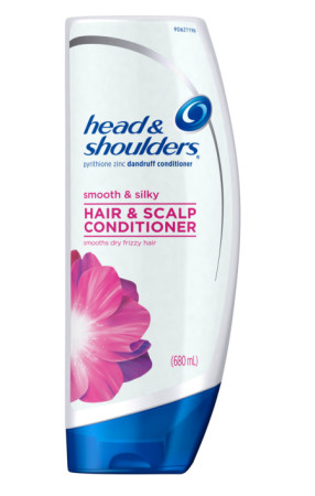 Head & Shoulders Smooth & Silky Dandruff Conditioner 21.9 oz [037000733515]