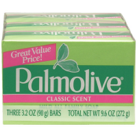Palmolive Bath Bar Soap, Classic Scent 3.20 oz, 3 ea [035000110107]