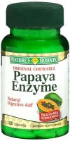 Nature's Bounty Papaya Enzyme Chewable Tablets 100 Tablets [074312011306]