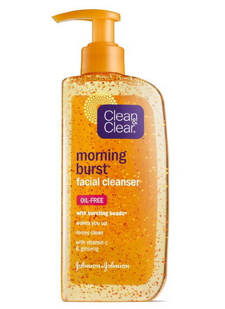 CLEAN & CLEAR Morning Burst Facial Cleanser 8 oz [381370016175]
