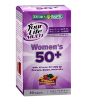 Nature's Bounty Your Life Multi Women's 50+ Multivitamin Tablets 90 ea [074312211010]