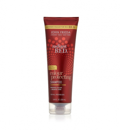 John Frieda Radiant Red Color Magnifying Daily Shampoo 8.45 oz [717226013515]
