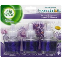 Air Wick Scented Oil Air Freshener, Lavender and Chamomile Scent, Triple Refills, 0.67 oz [062338814650]