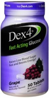 Dex4 Glucose Tablets Grape 50 Tablets [383960543634]