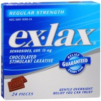 Ex-Lax Pieces Regular Strength 24 Each [300670005245]