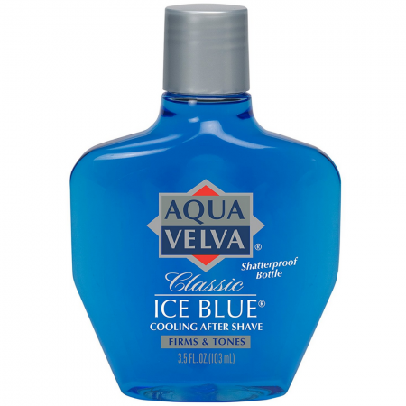 Aqua Velva Classic Ice Blue Cooling After Shave 3.50 oz [011509211323]