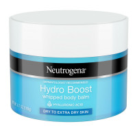 Neutrogena Hydro Boost Hydrating Whipped Body Balm with Hyaluronic Acid, Non-Greasy and Fast-Absorbing Balm for Dry Skin 6.7  oz [070501113455]