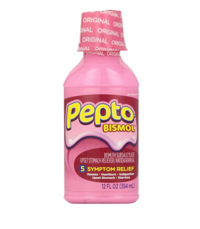 Pepto-Bismol Liquid Original 12 oz [301490039427]