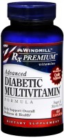 Windmill Rx Premium Advanced Diabetic Multivitamin Caplets 60 Caplets [035046009106]
