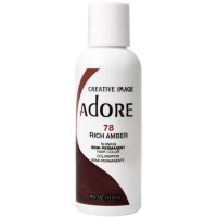 Adore Semi-Permanent Haircolor, Rich Amber  4 oz [661157100786]
