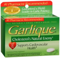 Garlique Caplets 60 Tablets [047046660003]