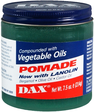 Dax Pomade With Lanolin 7.50 oz [077315002012]