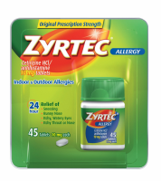 Zyrtec Allergy 10 mg Tablets 45 ea [350580726389]