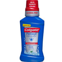 Colgate Peroxyl Antiseptic Oral Cleanser Mild Mint 8.4 oz [038341106365]