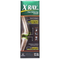 XRay Dol Topical Analgesic Joint and Muscle Pain Relief Cream 3 oz [650066000447]