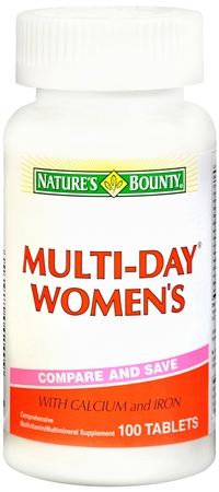 Nature's Bounty Multi-Day Women's Multivitamin Tablets 100 Tablets [074312042409]