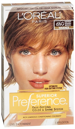 L'Oreal Superior Preference - 6-1/2G Lightest Golden Brown (Warmer) 1 Each [071249253137]