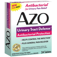 AZO Urinary Tract Defense Tablets, Antibacterial Protection 24 ea [787651760117]