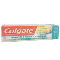 Colgate Total Advanced Toothpaste, Fresh + Whitening Gel 5.80 oz [035000762221]