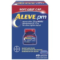 Aleve PM Soft Grip Cap, 220 mg Caplets 40 ea [325866560285]