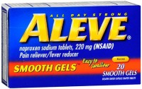 Aleve Smooth Gels 20 Caps [325866054203]