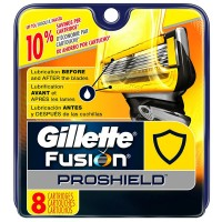 Gillette Fusion ProShield Razor Refill Cartridges 8 ea [047400656161]