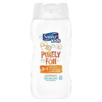 Suave Kids 3-in-1 Shampoo, Conditioner + Body Wash, Purely Fun 12 oz [079400524317]