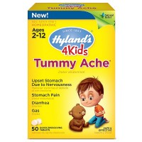 Hyland's 4 Kids Tummy Ache Tablets 50 ea [354973319615]