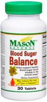 Mason Natural Blood Sugar Balance Tablets 30 Tablets [311845134387]