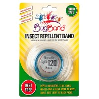 BugBand Insect Repellent Deet Free Wristband, Colors May Vary 1 ea [786216882004]