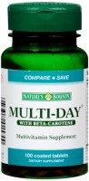 Nature's Bounty Multi-Day Multivitamin Tablets 100 Tablets [074312015700]